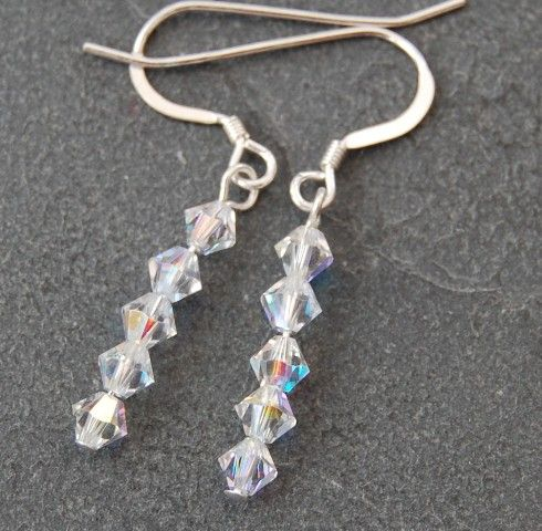 Swarovski AB Earrings (clear AB) SE01